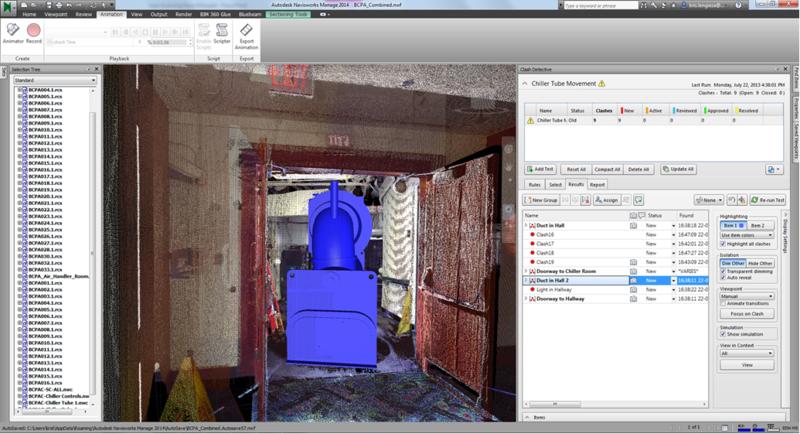 BCPA 4D clash scanning