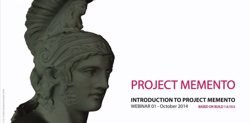 Project memento bust