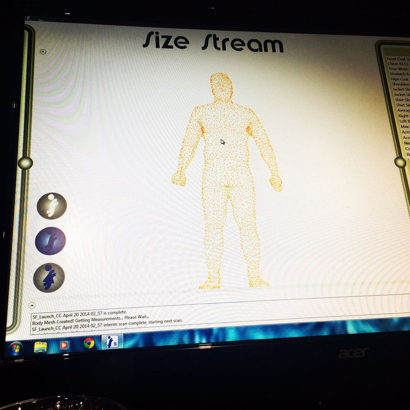Size stream