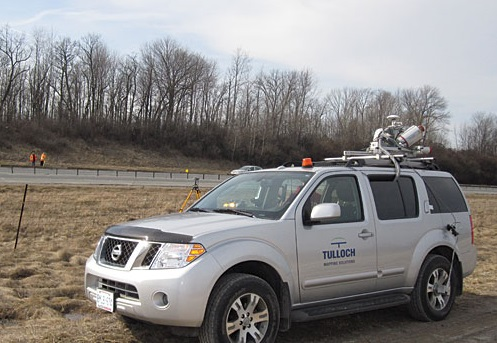 Mobile mapped scanning ReCap